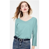 Supersoft Voop Tee Blue Women Boden, Blue