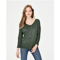 Supersoft Voop Tee Green Women Boden, Green