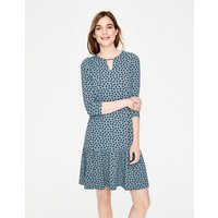 Selena Jersey Dress Blue Women Boden, Blue