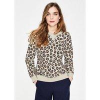 Arabella Sweatshirt Brown Women Boden, Leopard