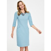 Jasmine Ottoman Dress Blue Women Boden, Blue