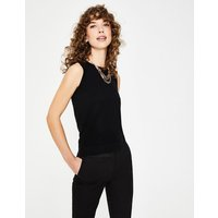 Boden Favourite Knitted Tank Black Women Boden, Black