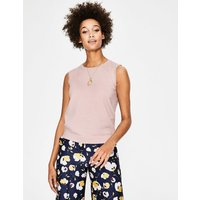 Favourite Knitted Tank Pink Women Boden, Pink
