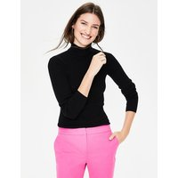 Boden Tilly Roll Neck Jumper Black Women Boden, Black