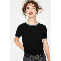 Favourite Knitted Top Black Women Boden, Black