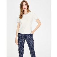 Favourite Knitted Top Ivory Women Boden, Ivory
