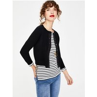 Amelia Crop Cardigan Black Women Boden, Black