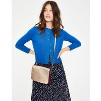 Amelia Crop Cardigan Blue Women Boden, Blue