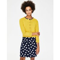 Amelia Crop Cardigan Yellow Women Boden, Yellow