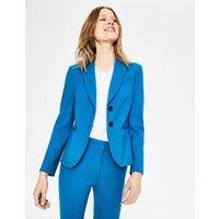 Elizabeth Ponte Blazer Blue Women Boden, Blue