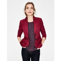 Boden Elizabeth Ponte Blazer Purple Women Boden, Purple
