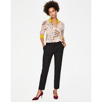 Boden Richmond 7/8 Trousers Black Women Boden, Black