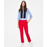 Boden Richmond 7/8 Trousers Red Women Boden, Red
