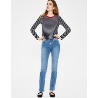 Boden Trafalgar Straight Leg Jeans Denim Women Boden, Denim