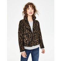 Horsell Jacket Brown Women Boden, Leopard