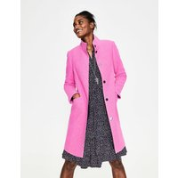 Hengrave Coat Pink Women Boden, Multicouloured