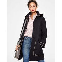Boden Anya Waterproof Mac Black Women Boden, Black