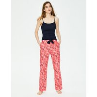 Boden Suzie PJ Trousers Red Women Boden, Red