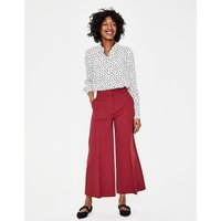 Boden Hampshire Ponte Culottes Purple Women Boden, Purple