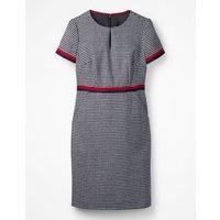 Adelaide Tweed Dress Navy Women Boden, Navy