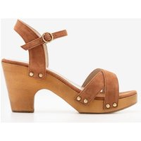 Boden Olivia Clog Sandals Brown Women Boden, Brown