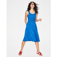 Emmie Jersey Dress Blue Women Boden, Blue