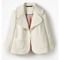 Sylvia Jacket Ivory Women Boden, Ivory