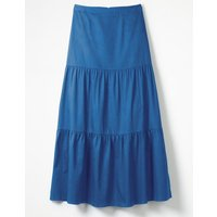 Thea Maxi Skirt Blue Women Boden, Blue