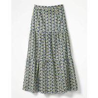 Thea Maxi Skirt Navy Women Boden, Navy