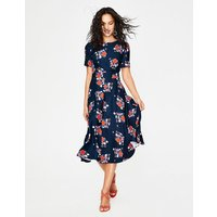 Ruth Midi Dress Navy Women Boden, Navy