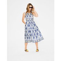 Lizzie Dress Blue Women Boden, Blue