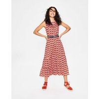 Thea Midi Dress Red Women Boden, Red