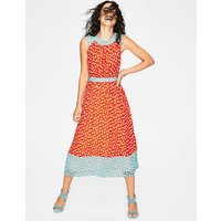 Sylvie Dress Red Women Boden, Red