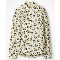 Boden The Classic Shirt Yellow Women Boden, Yellow