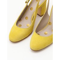 Sena Slingbacks Yellow Women Boden, Yellow