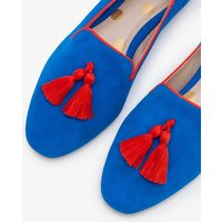Rowan Slipper Shoes Blue Women Boden, Blue