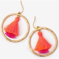 Eden Tassel Earrings Pink Women Boden, Pink