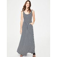 Diana Jersey Maxi Dress Navy Women Boden, Navy