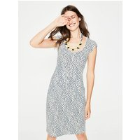 Margot Jersey Dress Ivory Women Boden, Ivory