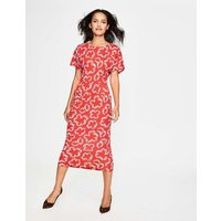 Vanessa Jersey Dress Red Women Boden, Red