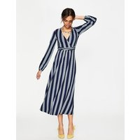Hayden Jersey Dress Navy Women Boden, Navy