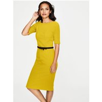 Kaia Ottoman Dress Yellow Women Boden, Yellow