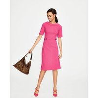 Betty Ottoman Dress Pink Women Boden, Pink