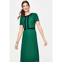 Joan Ponte Dress Green Women Boden, Green