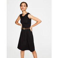 Marina Jersey Dress Black Women Boden, Black