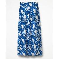 Jersey Maxi Skirt Blue Women Boden, Blue