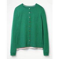 Favourite Crew Cardigan Green Women Boden, Green