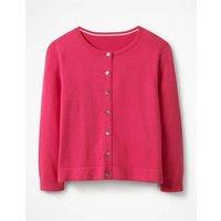 Favourite Crop Crew Cardigan Pink Women Boden, Pink