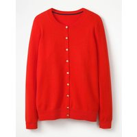 Cashmere Crew Cardigan Red Women Boden, Red