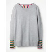 Cassandra Jumper Grey Women Boden, Grey